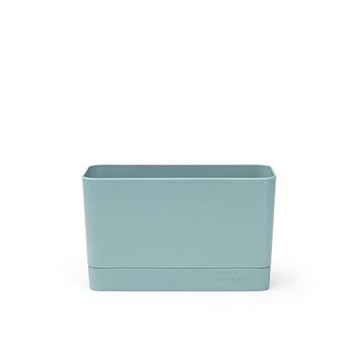 Brabantia Sink Side Organizer per Lavello, Mint, 8.5 x 19 x 11.5 cm