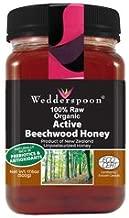 Wedderspoon Raw Beechwood Honey, 17.6 Oz, Unpasteurized, Genuine New Zealand Honey, Multi-Functional, Non-GMO Superfood