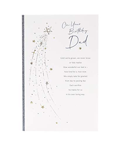 UK groeten vader verjaardagskaart - cadeaubon voor hem - verjaardagscadeaus voor hem - geschenken voor vader - papa kaarten met mooie woorden - sentimenteel