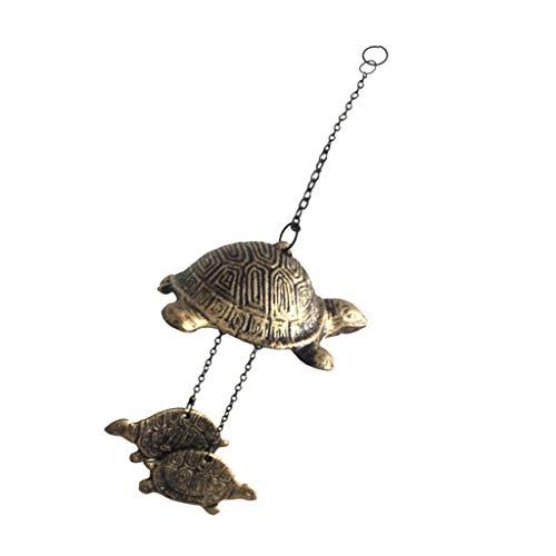 Homyl Japanische Windspiel Klangspiel Glücksbringer Glocke, Japanische Kultur Liebhaber - B# Schildkröte