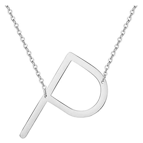 Dorical Buchstabe Halsketten,A-Z Halskette, Personalisierte Gold Herz Anhänger Buchstabe Kette Alphabet,Anhänger Halsketten Frauen Mädchen Kindergeschenke Sonderverkauf(02-Q,One Size)