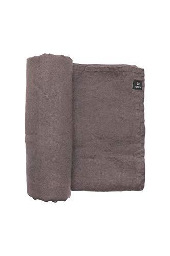 Himla tafelkleed Sunshine - 145x250 cm - 100% gewassen linnen - onderhoudsvriendelijk - strijkvrij - verkrijgbaar in verschillende kleuren en maten 145 x 250 cm mauve