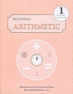 Beginning Arithmetic grade 1 Workbook 1 Lessons 1-85
