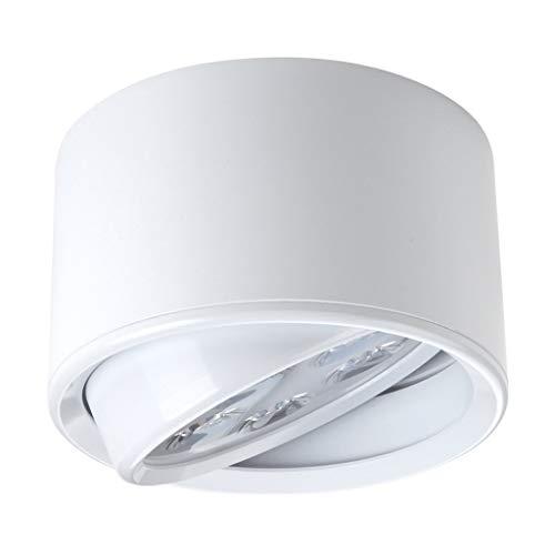 The Mini Small Size LED Decken-Downlight Unterputz-Deckenleuchte Flurleuchte (Schwarz/Silber/Weiß) XYJGWXDD (Color : White-7W)