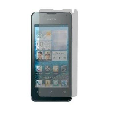 Saxonia Bildschirmschutzfolie für Huawei Ascend Y300 Folie Klar inkl. Mikrofasertuch