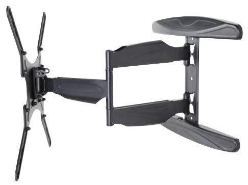 Vivolink Wandhalterung mit Arm, VESA-Größe von 200 x 200 bis 400 x 400, für Fernseher mit Bildschirmgröße: 23 Zoll - 55 Zoll, max. Traglast: 50 kg, schlankes Design, mit Diebstahlsicherung