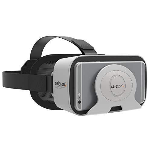 """celexon Virtual-Reality 3D VR-Brille mit Headset Economy VRG-1 - geeignet für alle Smartphones von 4,7\""""- 6\"""" - 240g - ideal auch für Brillenträger"""