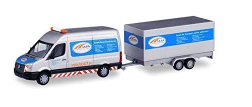 Volkswagen Crafter Kasten Hochdach mit Tandem-Koffer-Anhänger SABA Transportservice