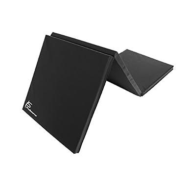 ProSource Tri-Fold Folding Exercise, Black