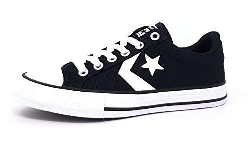 Converse Star Player Kinderschuhe Burschen Outdoor Stiefel Schwarz, Schuhgröße:EUR 34