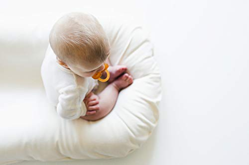 Snuggle Me Organic | Patented Sensory Lounger for Baby | organic cotton, virgin polyester fill