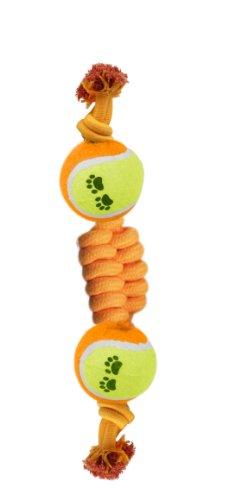 Sixtrees corda con 2 palline da ping pong, 11,5 cm