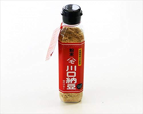 川口納豆 粉末納豆 75g 宮城県産大粒大豆使用 ×24本