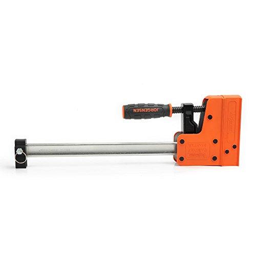 JORGENSEN 8012 Cabinet Master 12 Inch 90 Degree Parallel Steel Bar Clamp