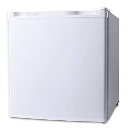 Northair Upright Freezer - 1.1 Cu Ft with Removable Shelves - Reversible Door Hinge and Adjustable Feet - Quiet Mini Freezer - White
