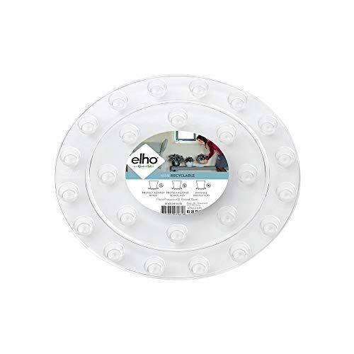 Elho Floorprotector Rund 21 - Transparent - Drinnen - L 21 x W 21 x H 1.5 cm