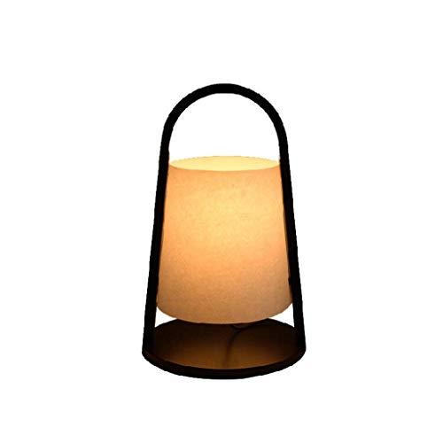 JUNYYANG Arte de madera sólida Noche de iluminación decorativa, Reading lámpara- de noche y lámparas de mesa creativa dormitorio lámpara de cabecera china de Luz Salón de la personalidad caliente de l