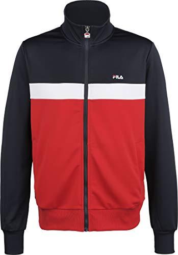 Fila Sanga Track Jacke Herren rot/dunkelblau, XL