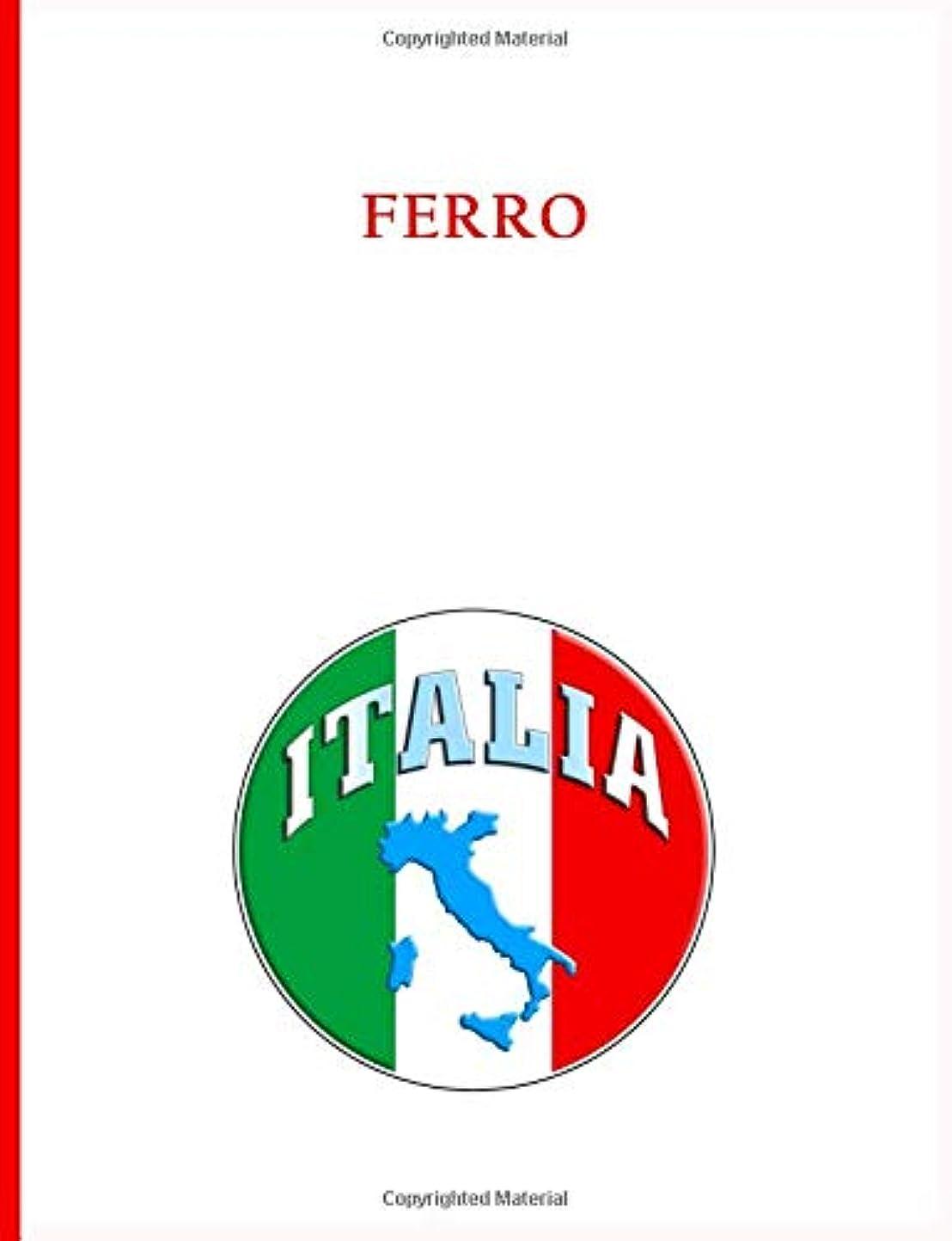 カブバスケットボール目の前のFerro Family Notebook