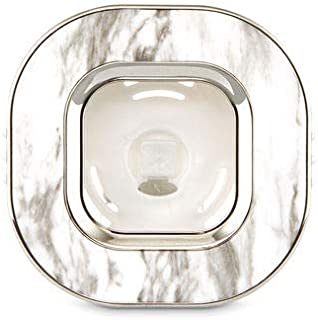 【Bath&Body Works/バス&ボディワークス】 車用芳香剤 セントポータブル ホルダー (本体ケースのみ) マーブルスクエアー Scentportable Holder Marble Square Vent Clip [並行輸入品]