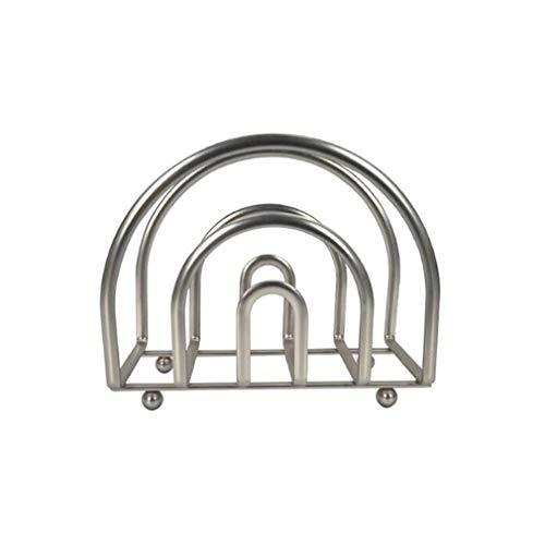 #N/A FEITeng Soporte de tabla de cortar, semicírculo tablas de cortar estante de almacenamiento cocina encimera Accesorios