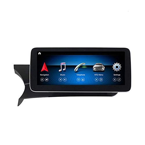 Android Car Stereo Radio 2 Din Sat Nav Compatible con Mercedes Benz E-Class W204 2011-2013 Navegación GPS Pantalla táctil de 10.25 pulgadas Reproductor multimedia Receptor de video con 4G Carplay