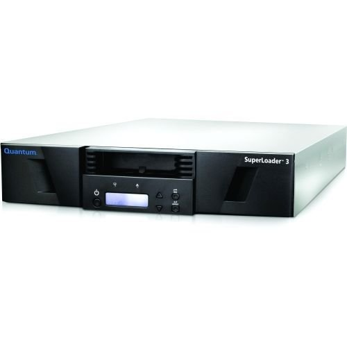 Quantum SUPERLOADER 3, ONE LTO-7HH Tape Drive, Model C, 16 Slots, 6GB/S SAS, RAC