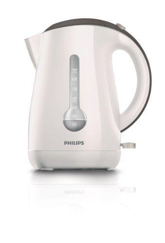 Philips Viva Collection HD4677/50 Bollitore Elettrico, 1.7 L, 2400 W, Bianco