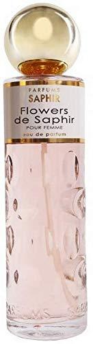 PARFUMS SAPHIR Flowers de Saphir - Agua de Parfum con vaporizador para Mujer - 200 ml