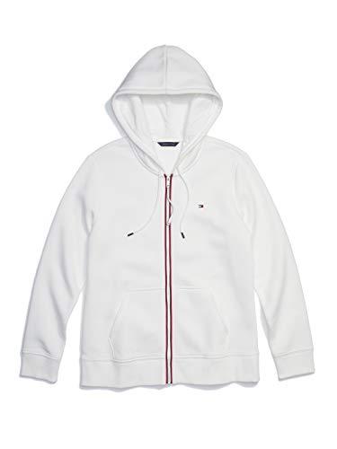 Tommy Hilfiger Herren ADP W Emma Corp Logo Hoodie Sweatshirt, schneeweiß, Large