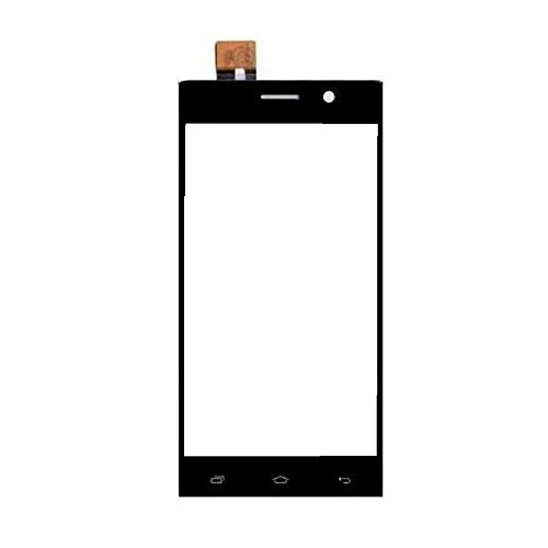Touch Screen Digitizer Glass for Intex Aqua Power+ Black
