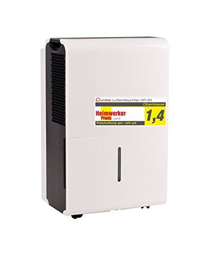 Comfee Luftentfeuchter/Bautrockner MDDP-50DEN1 (50L in 24h), Raumgröße ca. 100m²