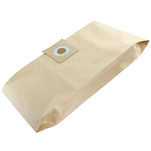 NeedSpares - Pack de 10 Bolsas de Polvo para aspiradoras Titan 16L, 20L, 30L, 40L