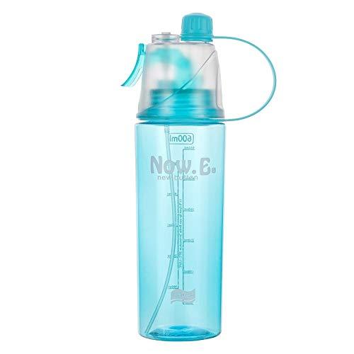 Wasserbecher Sport Spray Outdoor Portable Cup Blau 600ml Mit Verpackung