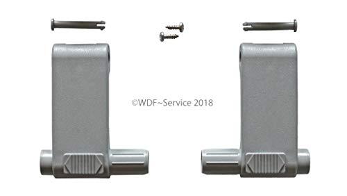 WDF-Service GmbH Griffhebel-Set, grau, für Braas/Dörken-Atelier-Fenster (BA/DA)