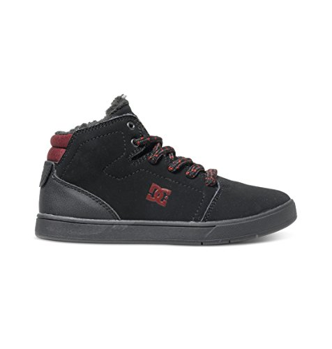 DC Shoes Crisis High Wnt, Unisex Baby Krabbelschuhe,  ,Schwarz (black/battleship/ath) ,33 EU