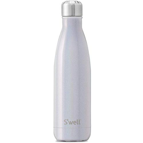 S'well Vacuum Insulated Stainless Steel Water Bottle, 500ml, Milky Way