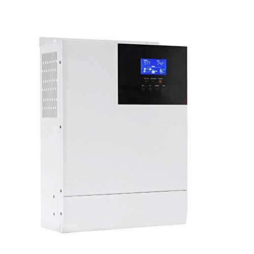 48V Hybrid Inverter 3500W Pure Sine Wave Inverter 80amp Mppt Controller, 48V DC to 110V AC Pure Sine Wave Inverter off GRID Solar Home Use Inverter Work with 48V Lead-Acid and Lithium(Upgrade Version)