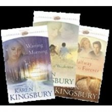 Karen Kingsbury Forever Faithful Collection  Waiting for Morning / A Moment of Weakness / Halfway to Forever
