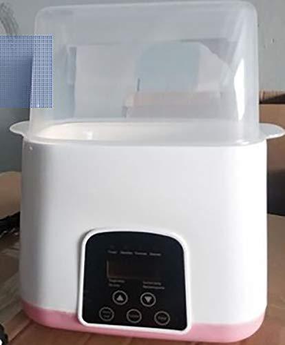 FlaschenSterilisator 2-in-1 Baby Flaschenwärmer Dampfsterilisator Mit Schnell AuftauenfunktionLCD-Anzeige Babykostwärmer Warmhaltefunktion Platz Für 2Flaschenfür Muttermilch Oder Babymilchpulver