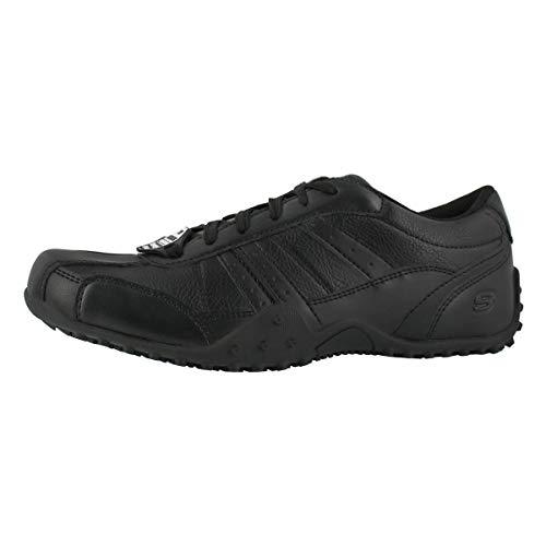 Skechers Work Men's Elston Slip Resistant Work Shoe Black 9.5 Medium US