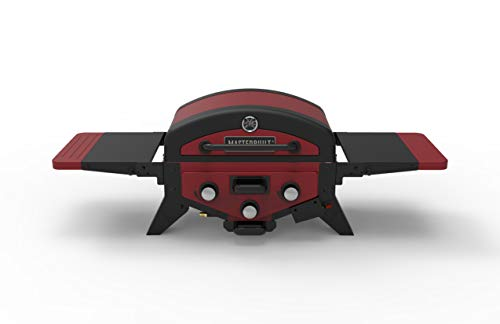 Masterbuilt MB20030619 MPG 300S Tabletop Gas Grill, Red (Newer Version) Gas Grills Natural
