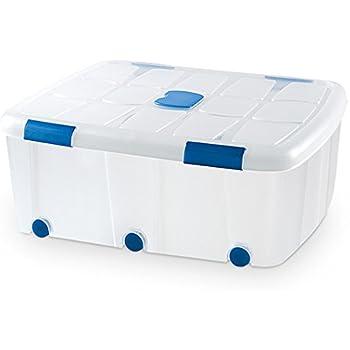 Plastic Forte Caja de Ordenación N 15 100 Litros: Amazon.es: Hogar