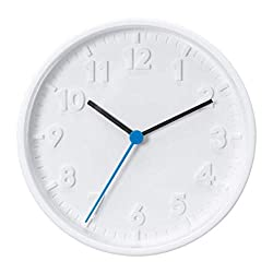 IKEA Stomma Wall Clock White 003.741.36 Size 7 ¾