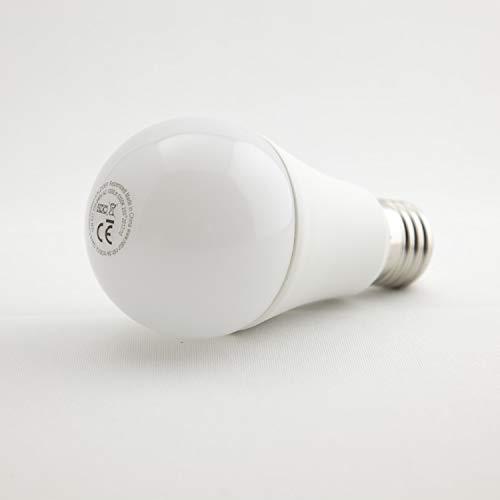 Vollspektrum-LED Tageslichtlampe E27-12 Watt, m. integr. Dimmer, natur-nah