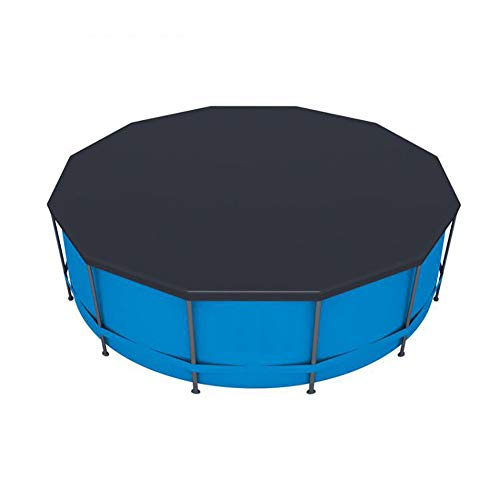 STTC Cobertor para Piscina Desmontable para Piscinas Redondas, Material de protección UV, Protege tu Piscina (Diámetro 3,05/3,66m),366cm