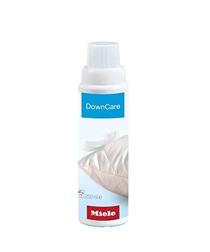 Miele Original Zubehör Daunen Spezial-Waschmittel / 250 ml - für 13 Waschladungen / für Kissen, Schlafsäcke, Daunenbekleidung / erhält Elastizität, Atmungsaktivität / für Waschmaschinen