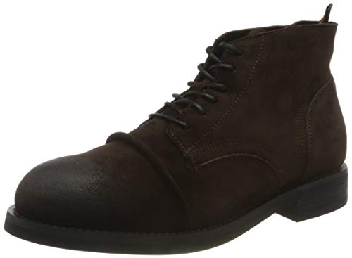 SCOTCH & SODA FOOTWEAR Herren COLTAN Mode-Stiefel, Dark Brown, 40 EU