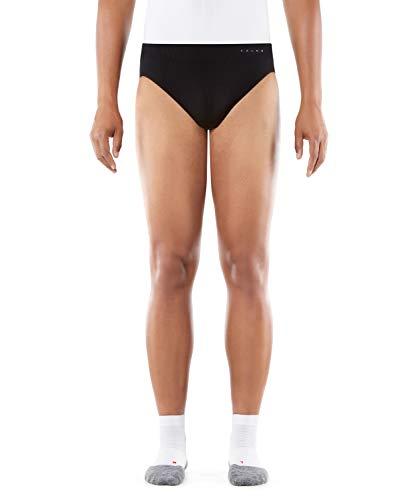 FALKE Herren Briefs Warm, Unterhose in körpernaher Passform, Funktionsfaser, Unterwäsche zum Sport, Laufen, 1 Stück, Farbe schwarz, Größe: S-XXL