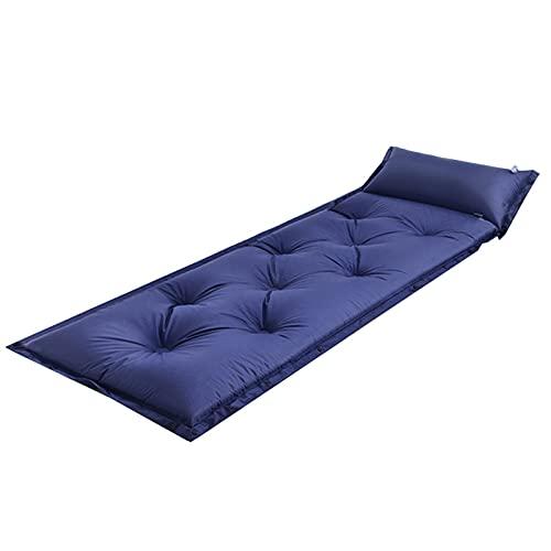 LXW Camping Almohadilla para Dormir/Colchón de Aire a Prueba de Agua Colchón de Aire de sueño más cómodo con una Almohada incorporada, para un Uso de la Tienda de campaña de Senderismo